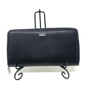 Calvin Klein Caviar Travel Zip Mens Wallet Leather